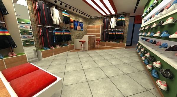 Spetlaf Giyim Mağazası Mobilya ve Dekorasyon Çalışması