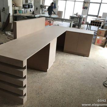 Diş Polikliniği ofis mobilya dekorasyon çalışması (1)