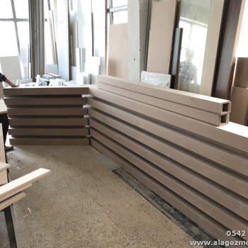 Diş Polikliniği ofis mobilya dekorasyon çalışması (3)